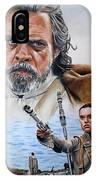 Luke And Rey IPhone Case