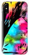 Luke Skywalker Paint Splatter IPhone Case