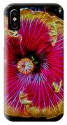 Luminous Bloom IPhone Case