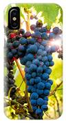 Luminous Grapes IPhone Case