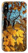 Luminous Leaves IPhone Case