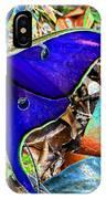 Luna Moth False Color Work One IPhone Case