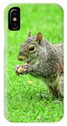 Lunchtime In The Park IPhone Case