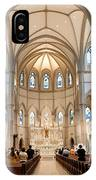 Lunchtime Mass At Saint Paul Cathedral Pittsburgh Pa IPhone Case