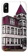 Lunenburg Academy 2 IPhone Case