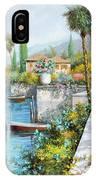 Lungolago IPhone Case by Guido Borelli