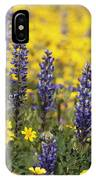 Lupin And Daisies IPhone Case