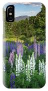 Lupine In The Valley IPhone Case