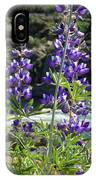 Lupines At The River IPhone Case