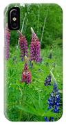 Lupins 2016 4 IPhone Case