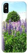 Lupins And Flocks IPhone Case