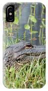 Lurking In The Grass IPhone Case