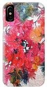 Luscious Bougainvillea IPhone Case by Michelle Abrams