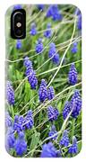 Lush Grape Hyacinth IPhone Case