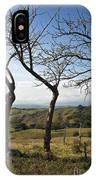 Lush Land Leafless Trees Iv IPhone Case