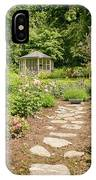 Lush Landscaped Garden IPhone Case