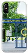 Luxembourg American Cemetery And Memorial IPhone Case