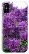 Luxurious Lilacs IPhone Case
