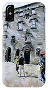 Lynches Castle Galway City IPhone Case