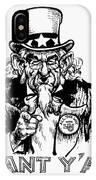 Lyndon Johnson: Cartoon IPhone Case