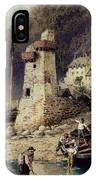 Lynmouth In Devonshire IPhone Case