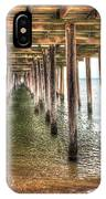 Lynnhaven Fishing Pier, Pillars To The Sea IPhone Case