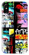 Lyon Graffiti Walls IPhone Case