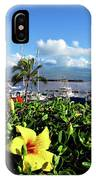 Maalaea Boat Harbor IPhone Case