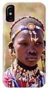 Maasai Beauty IPhone Case
