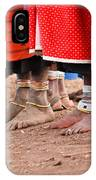 Maasai Feet IPhone Case