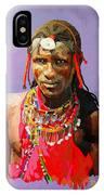 Maasai Moran IPhone Case