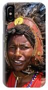 Maasai Warrior IPhone Case