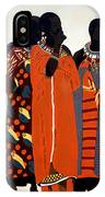 Maasai Women IPhone Case