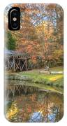 Mabry Mill. Blue Ridge Parkway IPhone X Case