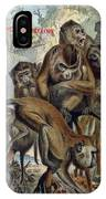 Macaques For Responsible Travel IPhone X Case
