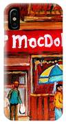 Macdohertys Icecream Parlor IPhone Case