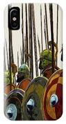 Macedonian Phalanx IPhone Case
