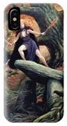 Macha The Irish Goddess Of War IPhone X Case