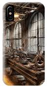Machinist - A Room Full Of Lathes  IPhone Case