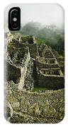 Machu Picchu In The Fog IPhone Case