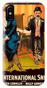 Mack Sennett Comedy - An International Sneak 1917 IPhone Case