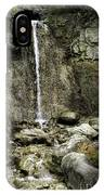 Mackinaw City Park Waterfalls IPhone Case