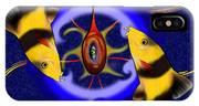 Macrachantis V1 - Colourful Fish IPhone Case