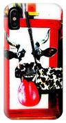Mad Cow ...framed  IPhone Case