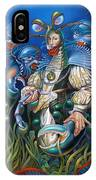 Madame Clawdia D'bouclier From Mask Of The Ancient Mariner IPhone Case
