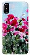 Maddy's Poppies IPhone Case