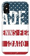 Made In Glenns Ferry, Idaho IPhone Case
