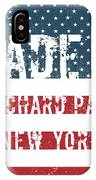 Made In Orchard Park, New York IPhone Case