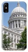 Madison Wi State Capitol IPhone Case