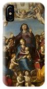 Madonna And Child With Saint Anne And The Patron Saints Of Florence IPhone X Case